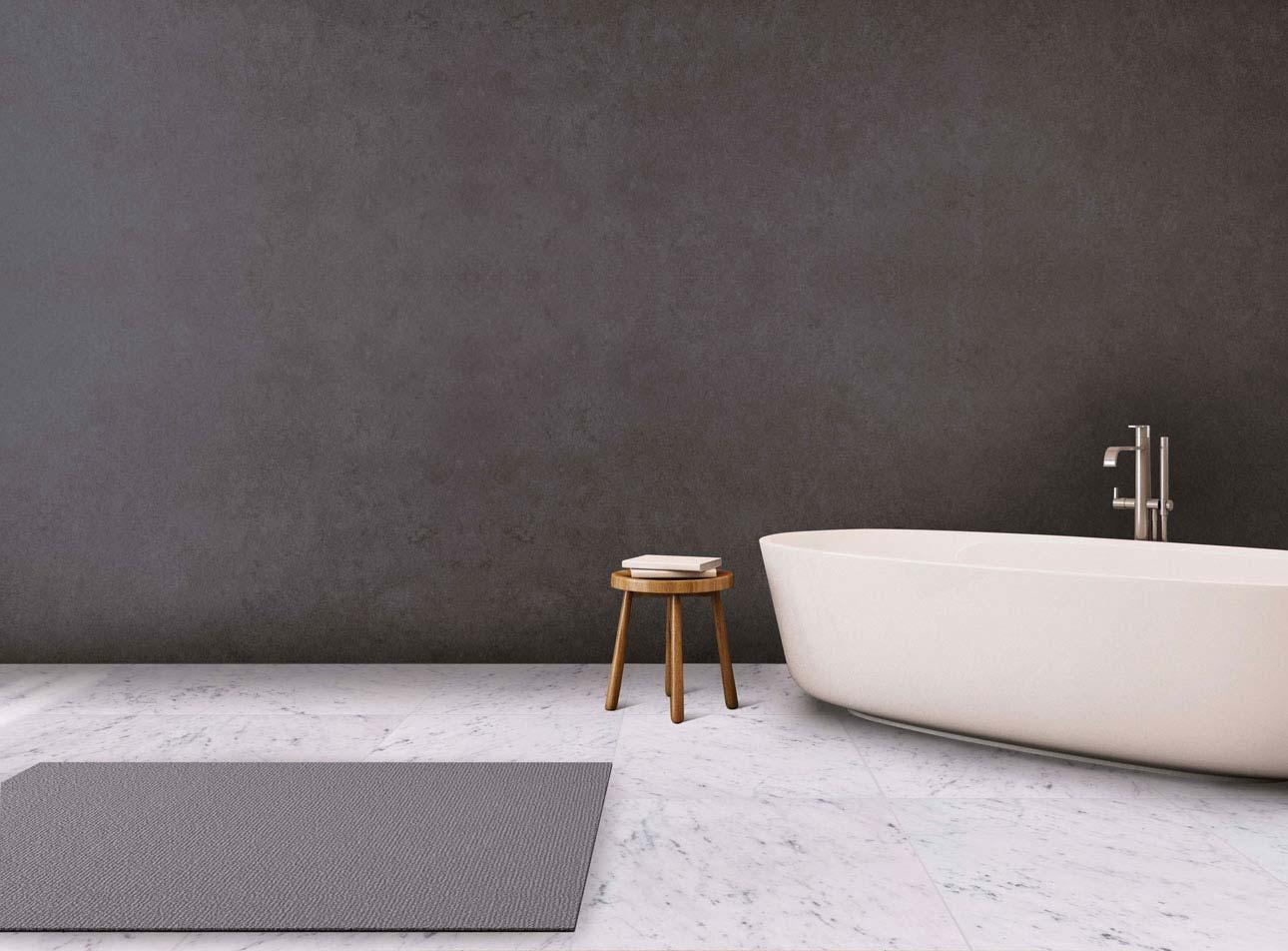 Realizzazioni in marmo pietra e travertino rielli - Bagno marmo bianco ...
